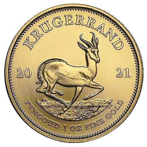 1 oz South African Gold Krugerrand Coin (BU)