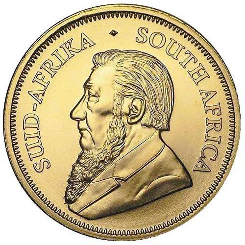 1 oz South African Gold Krugerrand Coin back