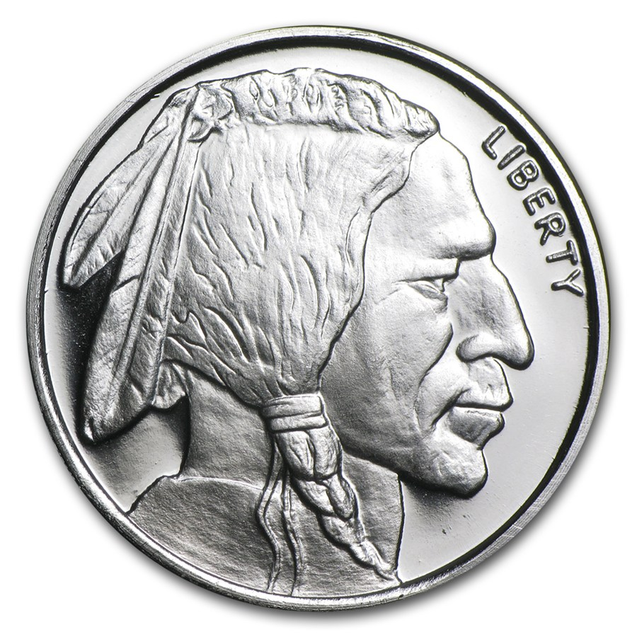Buffalo Silver Rounds 1 Oz Ready Coins Buy