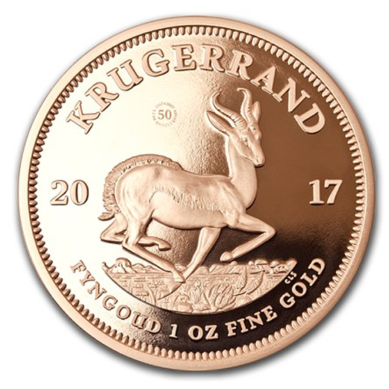 South Africa 1 Oz Gold Krugerrand Random Year Ready