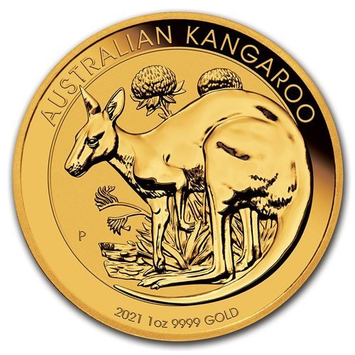 Australian Gold Kangaroo 1 oz Coin