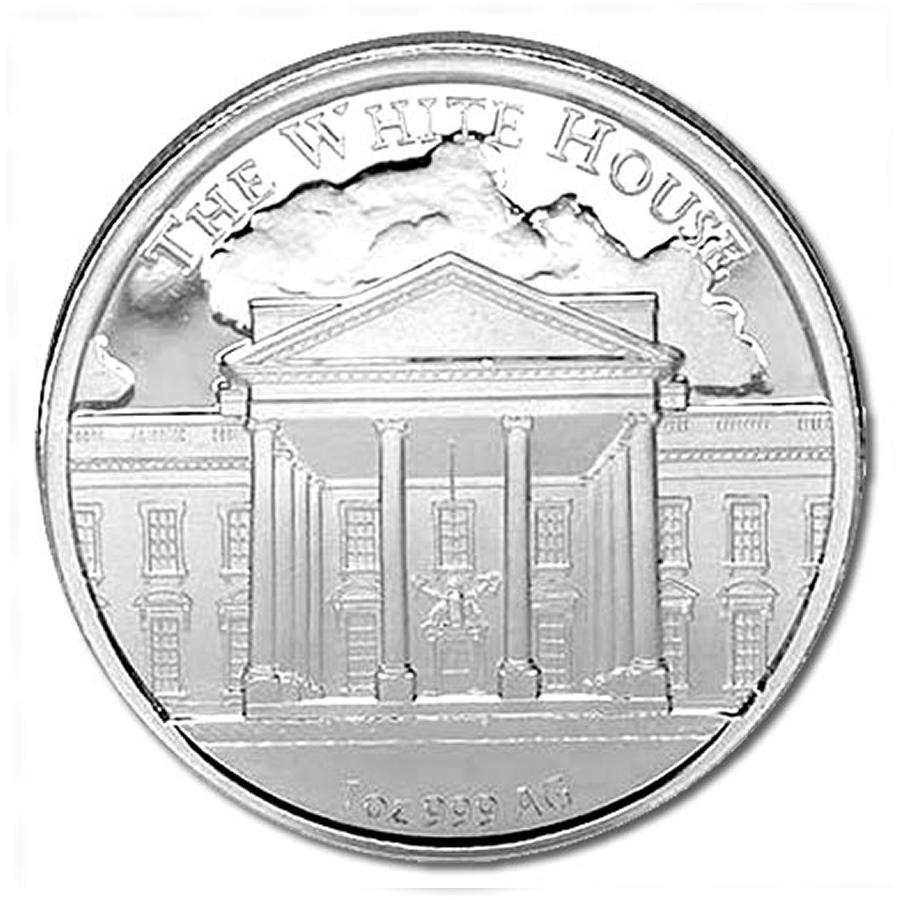 1oz Donald Trump United States 45th President Silver Coin