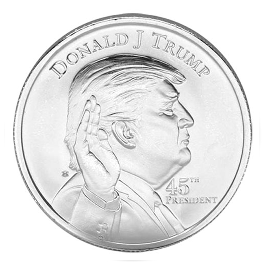 1oz Donald Trump United States 45th President Silver Coin
