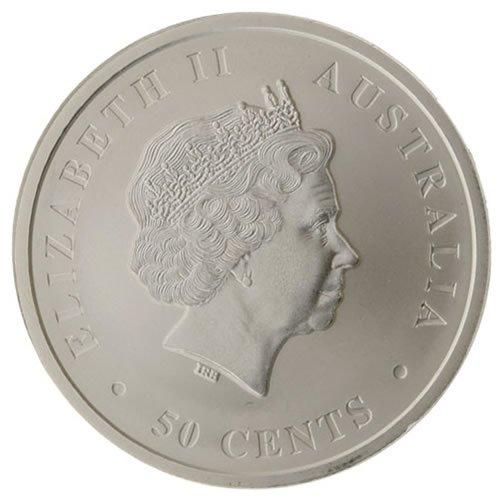 2017 half oz Silver Australian Saltwater Crocodile Coins back