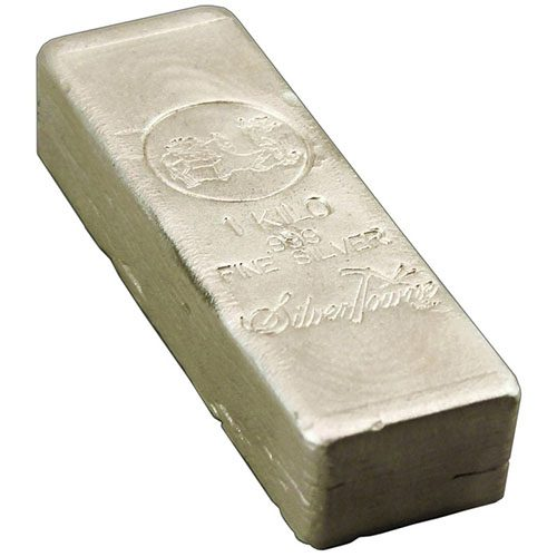 1 Kilo Silver Bar (Our Choice)