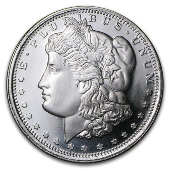 1 oz Silver Morgan Round