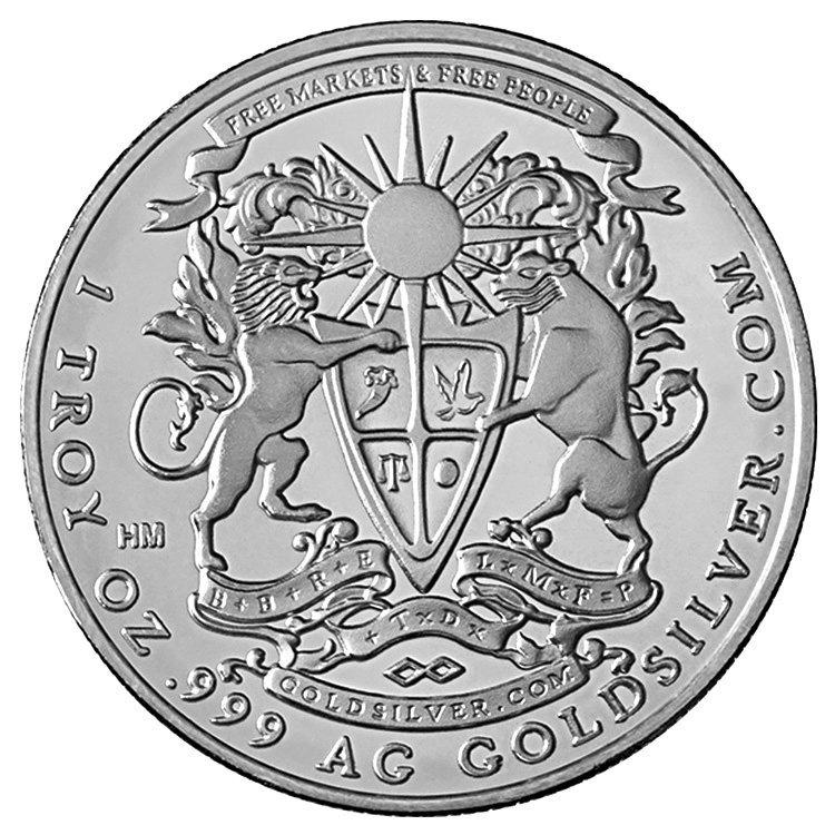 1 oz Pegasus Silver Round (Random Year)
