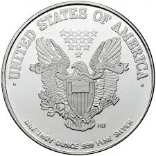 1 oz (HM) Walking Liberty Silver Round