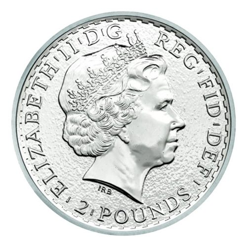 2018 1 oz British Silver Britannia Coin