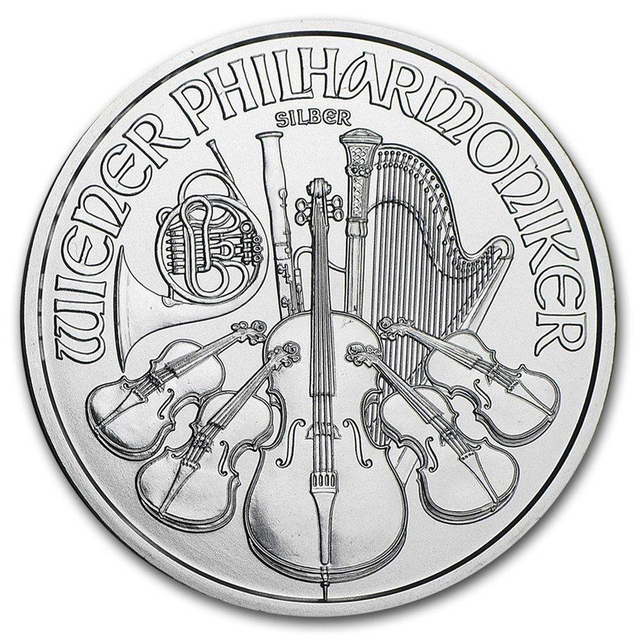 2017 Austrian Philharmonic Silver Coins - 1 oz.