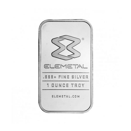 Silver Bullion Bar - 1 oz. (Our Choice)