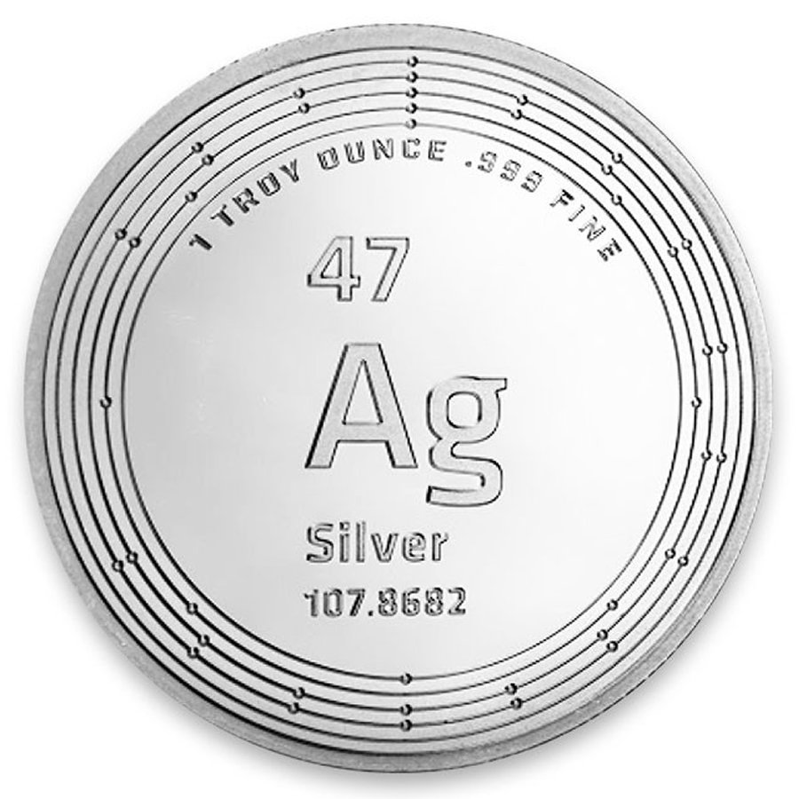 1oz. Silver Round (Our Choice)