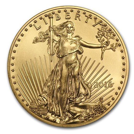 1oz. American Gold Eagle Common Date