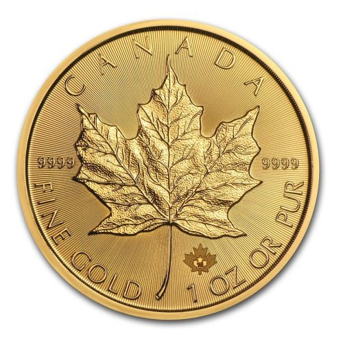 Canada 1 oz Gold Maple Leaf (Our Choice)