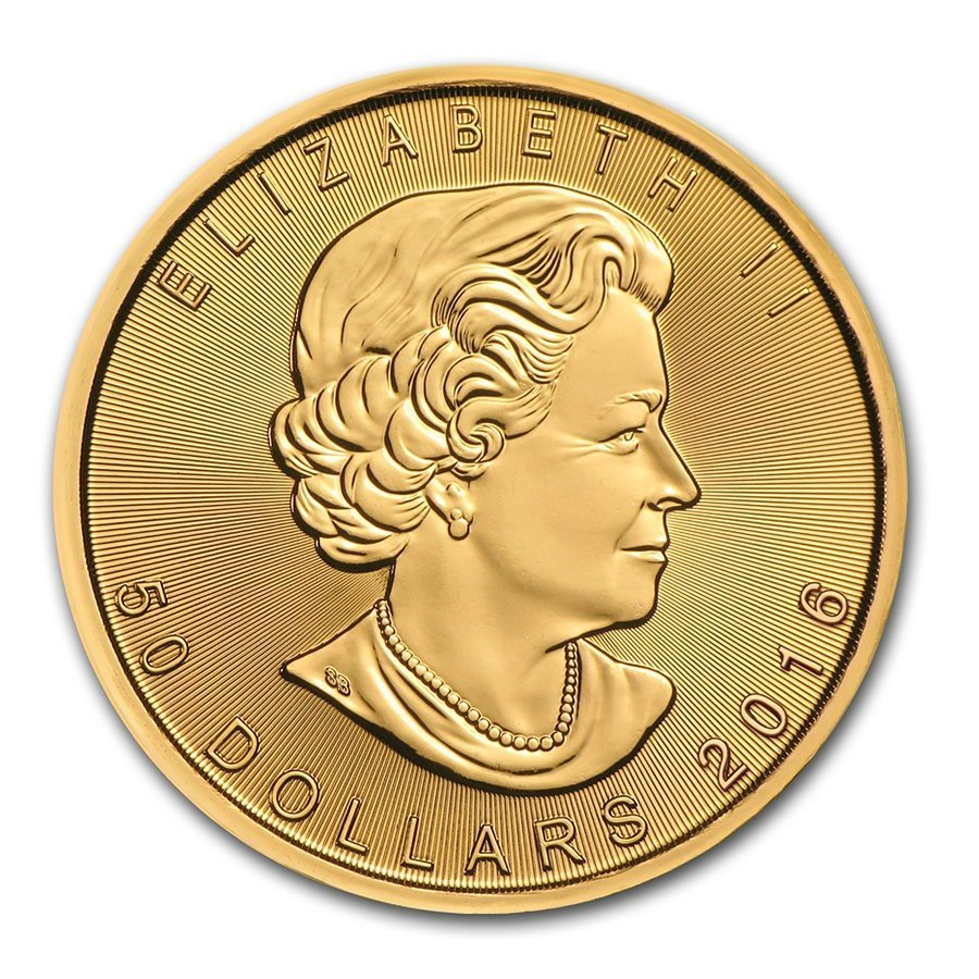 Canada 1 oz Gold Maple Leaf (Our Choice)