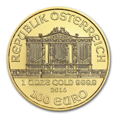 Austria 1 oz Gold Philharmonic 2017