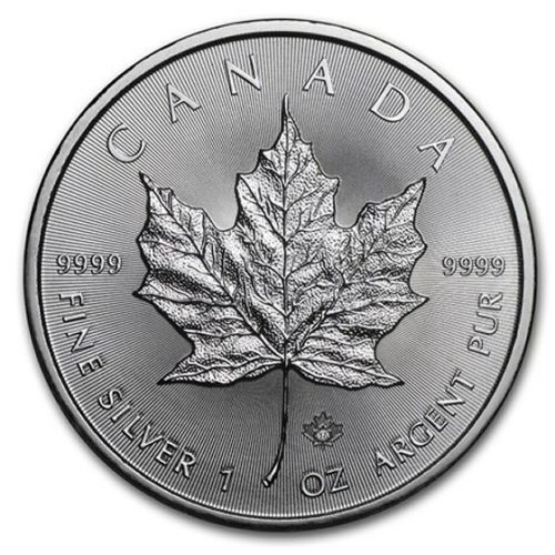 Monster Box (500) 1 oz Silver Canadian Maples