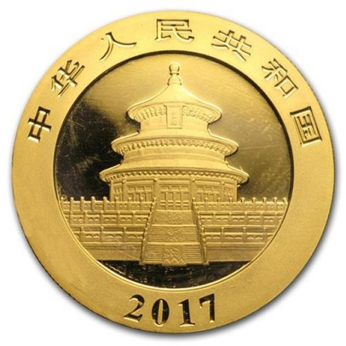 1 oz Gold Panda BU (Random Year)