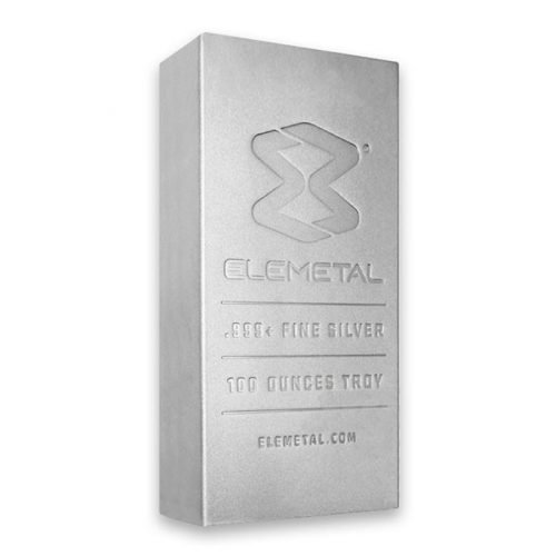100 oz Silver Bar (Our Choice)