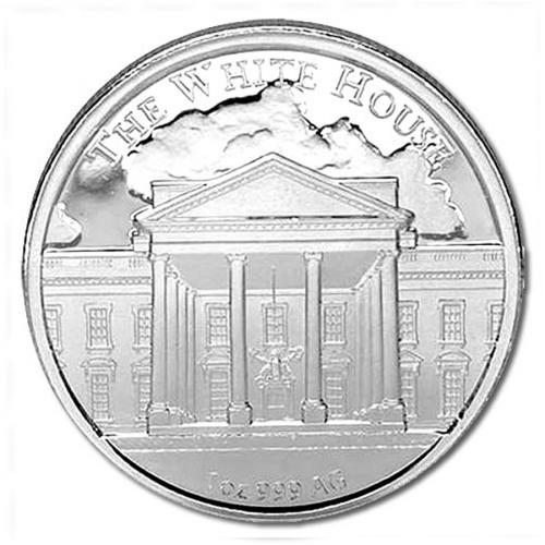 1oz. Donald Trump United States 45th President Silver Coin