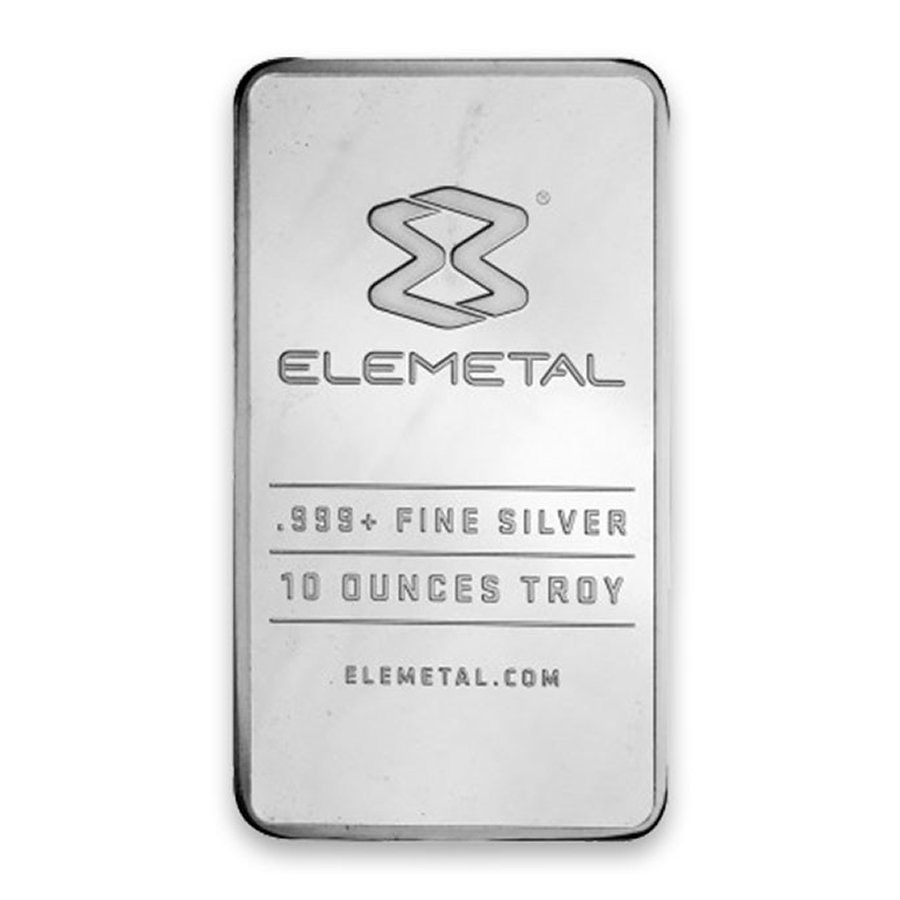10oz. Silver Bar (Our Choice)