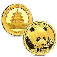 1 gram Gold Panda 2018