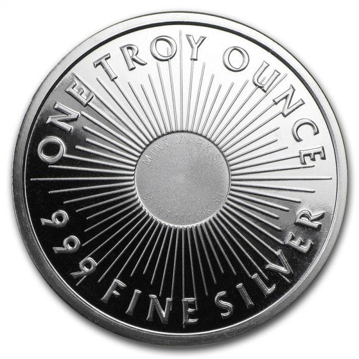 1 oz Silver Round - Sunshine Mint