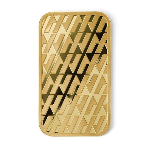 Asahi 1 oz Gold Bar back