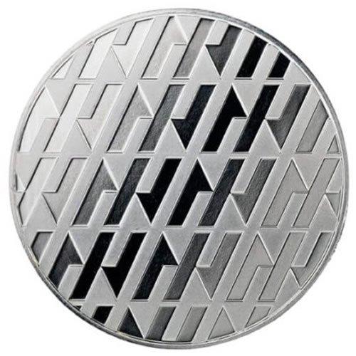 Asahi 1 oz Silver Round back