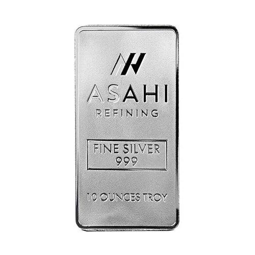 Asahi Silver Bar 10 oz front
