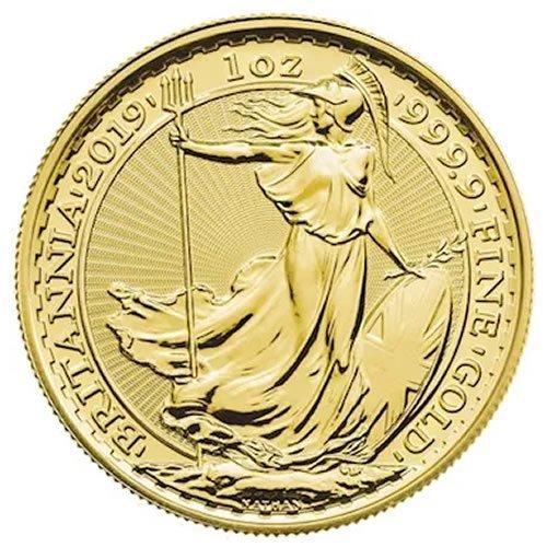 British Gold Britannia Coin front